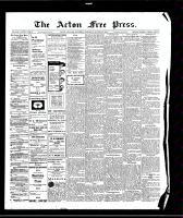 Acton Free Press (Acton, ON), August 27, 1908