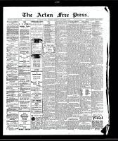 Acton Free Press (Acton, ON), September 3, 1908