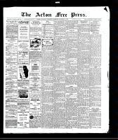 Acton Free Press (Acton, ON), October 29, 1908