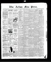 Acton Free Press (Acton, ON), November 5, 1908