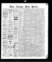 Acton Free Press (Acton, ON), December 3, 1908