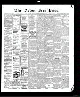 Acton Free Press (Acton, ON), December 10, 1908