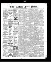 Acton Free Press (Acton, ON), December 17, 1908