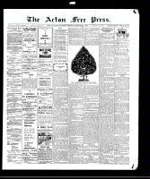 Acton Free Press (Acton, ON), December 24, 1908
