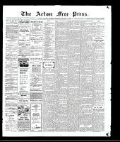 Acton Free Press (Acton, ON), January 14, 1909