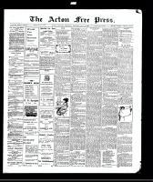 Acton Free Press (Acton, ON), July 8, 1909
