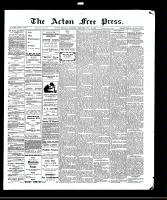 Acton Free Press (Acton, ON), July 22, 1909
