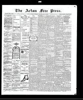 Acton Free Press (Acton, ON), July 29, 1909