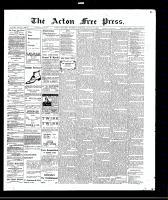 Acton Free Press (Acton, ON), August 26, 1909