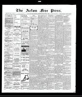 Acton Free Press (Acton, ON), September 2, 1909