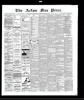 Acton Free Press (Acton, ON), September 9, 1909