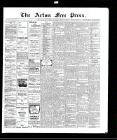 Acton Free Press (Acton, ON), October 21, 1909