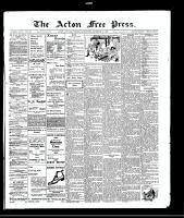 Acton Free Press (Acton, ON), December 23, 1909