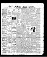 Acton Free Press (Acton, ON), January 6, 1910
