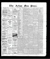 Acton Free Press (Acton, ON), March 3, 1910