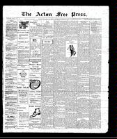 Acton Free Press (Acton, ON), March 10, 1910