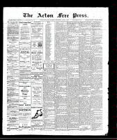 Acton Free Press (Acton, ON), June 2, 1910