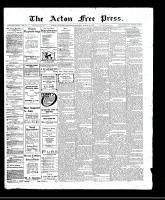 Acton Free Press (Acton, ON), March 30, 1911