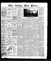 Acton Free Press (Acton, ON), May 25, 1911