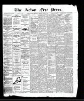 Acton Free Press (Acton, ON), June 15, 1911