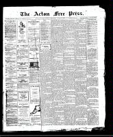 Acton Free Press (Acton, ON)10 Aug 1911