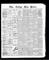 Acton Free Press (Acton, ON), August 17, 1911