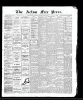 Acton Free Press (Acton, ON), August 31, 1911
