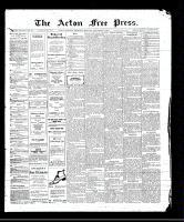 Acton Free Press (Acton, ON), September 7, 1911