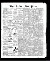 Acton Free Press (Acton, ON), September 14, 1911