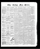 Acton Free Press (Acton, ON), September 21, 1911