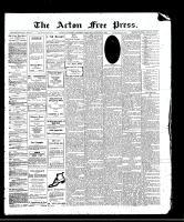 Acton Free Press (Acton, ON), October 5, 1911