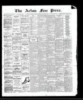 Acton Free Press (Acton, ON), October 12, 1911