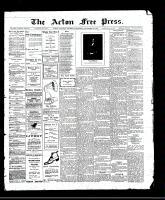 Acton Free Press (Acton, ON), November 23, 1911