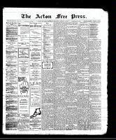 Acton Free Press (Acton, ON)4 Jan 1912
