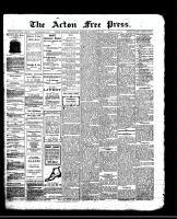 Acton Free Press (Acton, ON)19 Dec 1912