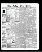 Acton Free Press (Acton, ON), January 8, 1913