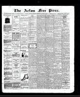 Acton Free Press (Acton, ON), January 15, 1913