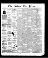 Acton Free Press (Acton, ON), January 22, 1913