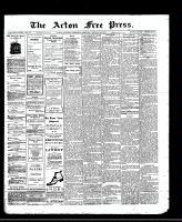 Acton Free Press (Acton, ON), January 29, 1913