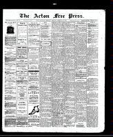 Acton Free Press (Acton, ON), February 6, 1913