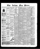 Acton Free Press (Acton, ON), February 20, 1913