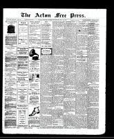 Acton Free Press (Acton, ON)15 May 1913