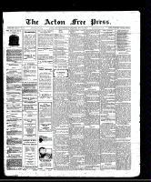 Acton Free Press (Acton, ON)31 Jul 1913