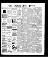 Acton Free Press (Acton, ON), August 21, 1913