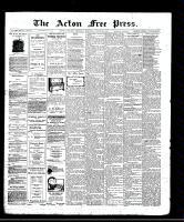 Acton Free Press (Acton, ON), August 28, 1913