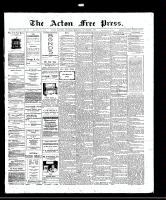 Acton Free Press (Acton, ON), November 6, 1913