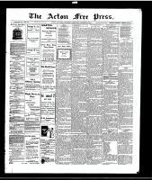 Acton Free Press (Acton, ON)22 Oct 1914