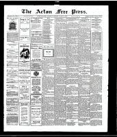 Acton Free Press (Acton, ON), August 5, 1915