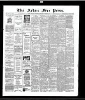 Acton Free Press (Acton, ON), October 28, 1915