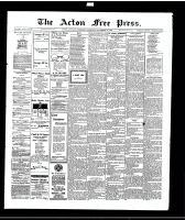 Acton Free Press (Acton, ON), November 11, 1915
